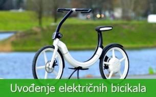 Uvođenje električnih bicikala na otoke i turistička mjesta