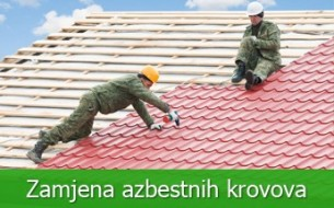 Zamjena azbestnih krovova
