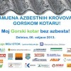 Zamjena azbestnih krovova u Gorskom kotaru!