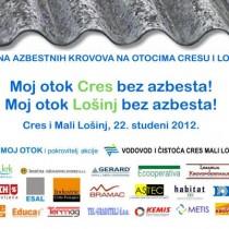Zamjena azbestnih krovova na otocima Cresu i Lošinju!