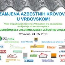 Zamjena azbestnih krovova u Vrbovskom
