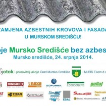 Moje Mursko Središće bez azbesta!