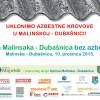 Moja Malinska-Dubašnica bez azbesta!