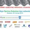Moja Općina Sukošan bez azbesta!