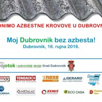 Moj Dubrovnik bez azbesta!