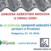 Zamjena azbestnih krovova u Crnoj Gori!