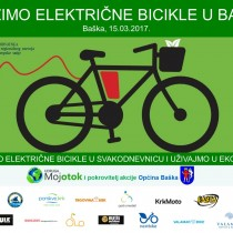 Vozimo električne bicikle u Baški