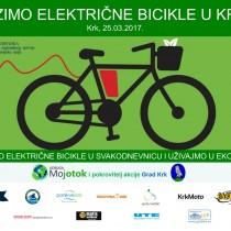 Vozimo električne bicikle u Krku