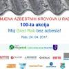 Moj Grad Rab bez azbesta! – jubilarna 100-ta akcija