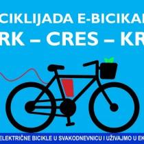 Biciklijada e-bicikala KRK - CRES - KRK