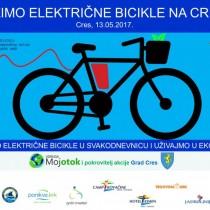 Vozimo električne bicikle na Cresu