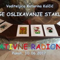 Kreativna radionica – Vitrage oslikavanje stakla