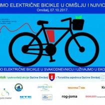 Vozimo električne bicikle u Omišlju i Njivicama