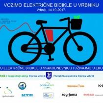 Vozimo električne bicikle u Vrbniku
