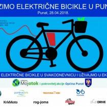 Vozimo električne bicikle u Puntu