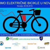 Vozimo električne bicikle u Novalji