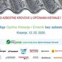 Moja Općina Kistanje i Ervenik bez azbesta!