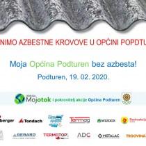 Moja Općina Podturen bez azbesta!