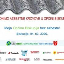 Moja Općina Biskupija bez azbesta!