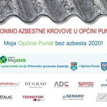 Moja Općina Punat bez azbesta 2020!