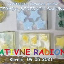 Kreativna radionica - Izrada mirisnih sapuna