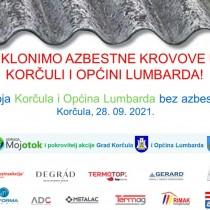 Moja Korčula i Općina Lumbarda bez azbesta!